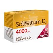 Solevitum D3 4000, tabletki powlekane, 75 szt. (60 szt. + 15 szt.)