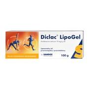 Diclac Lipogel, 10 mg/g, żel, 100 g