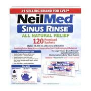 Sinus Rinse, zestaw do płukania zatok i nosa dla dorosłych, uzupełnienie, 120 saszetek