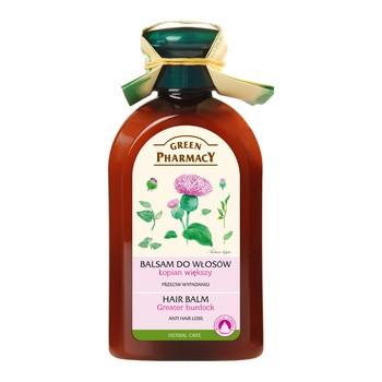Green Pharmacy, balsam do włosów przeciw wypadaniu, olejek łopianowy, 300 ml