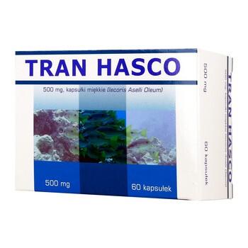 Tran Hasco, 500 mg, kapsułki miękkie, 60 szt.