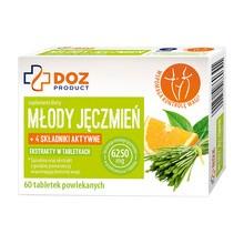 DOZ PRODUCT Młody Jęczmień, tabletki powlekane, 60 szt.