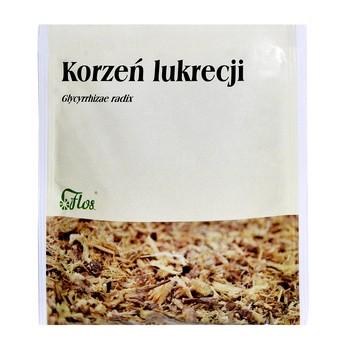 Korzeń lukrecji, zioło pojedyncze, 50 g (Flos)