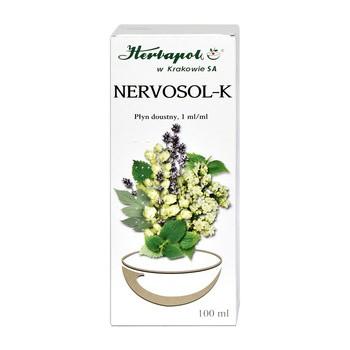 Nervosol K, płyn doustny, 100 ml (Herbapol Kraków)