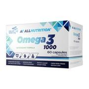 Allnutrition Omega 3 1000, kapsułki, 60 szt.