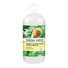 Fresh Juice, żel pod prysznic, avocado, mleko ryżowe, 500 ml