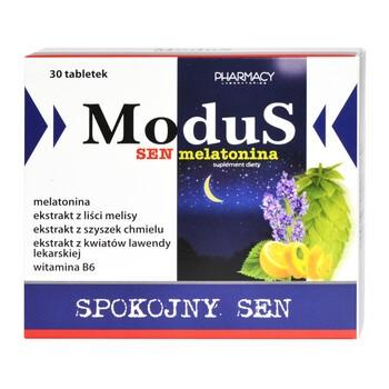 Modus Sen Melatonina, tabletki, 30 szt.