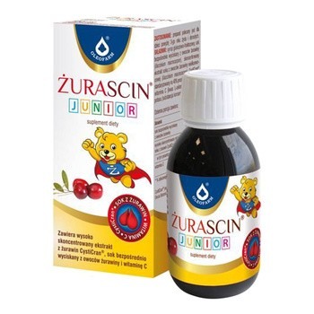 Żurascin junior, syrop, 100 ml