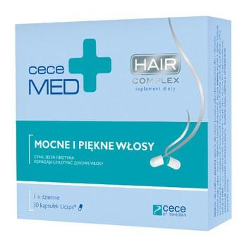 Cece Med Hair complex, kapsułki, 30 szt.