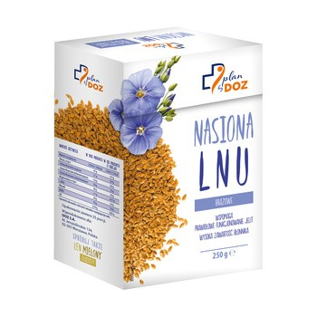 Plan by DOZ, Nasiona lnu, 250 g