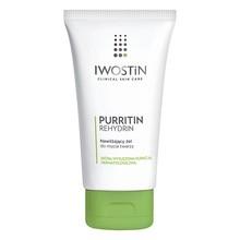 Iwostin Purritin Rehydrin, nawilżający żel do mycia twarzy, 150 ml