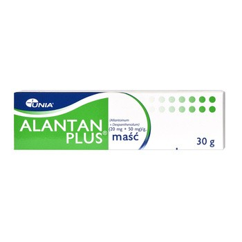 Alantan Plus, (20 mg + 50 mg)/g, maść, 30 g