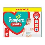 Pampers Pants 7 (17+ kg), pieluchomajtki jednorazowe, 74 szt.