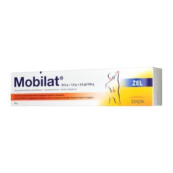 Mobilat, (0,2 g + 1,0 g + 2,0 g)/100 g, żel, 50 g