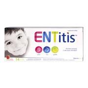 ENTitis, pastylki do ssania, smak truskawkowy, 14 szt.