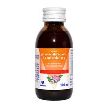 Syrop prawoślazowo - tymiankowy, 100 ml