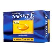 Tokovit E 200 natural, kapsułki elastyczne, 60 szt.