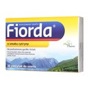 Fiorda, pastylki do ssania o smaku cytryny, 30 szt.
