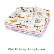 Weber, pielucha bawełniana dla niemowląt, kolorowy mix, 70 x 80 cm, 5 szt.