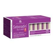 Seboradin Oily Hair, ampułki przeciw wypadaniu włosów, 14 ampułek x 5,5 ml