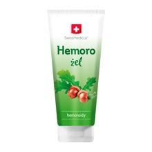 SwissMedicus Hemoro, żel z ekstraktem kory dębu i kasztanowca na hemoroidy, 200 ml