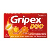 Gripex Duo, tabletki powlekane, 16 szt.