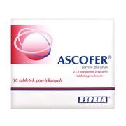 Ascofer, tabletki powlekane, 50 szt.