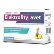 Elektrolity Avet, proszek, 10 saszetek