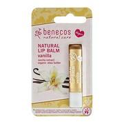 Benecos Natural Lip, balsam do ust, Wanilia, 4,8 g