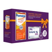 Pharmaton Geriavit, tabletki, 100 szt. + Magne-B6 Max, tabletki, 50 szt.