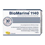 BioMarine 1140, kapsułki, naturalny olej z wątroby rekina, 60 szt.