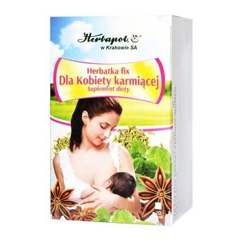 Herbatka dla kobiety karmiącej, fix, 2 g, 20 szt. (Herbapol Kraków)