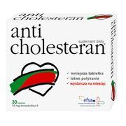 Anticholesteran, tabletki, 30 szt.