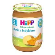 HiPP BIO dynia z indykiem, po 5. miesiącu, 190 g
