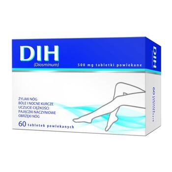 DIH, 500 mg, tabletki powlekane, 60 szt.