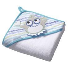 Baby Ono, okrycie kąpielowe frotte, białe, 1szt.