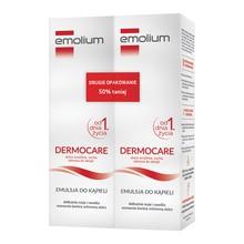Emolium Dermocare, emulsja do kąpieli od 1. dnia życia, 400ml x 2 opakowania
