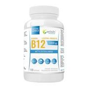 Wish, Witamina B12 1000 mcg Metylokobalamina + Prebiotyk, kapsułki, 120 szt.