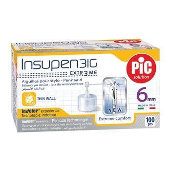 PiC Solution Insupen, igły do penów insulinowych, 31G x 6 mm, 100 szt.
