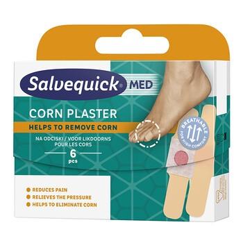 Salvequick Med Corn, plastry na odciski, 6 szt.