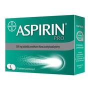 Aspirin Pro, 500 mg, tabletki powlekane, 20 szt.
