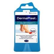 Dermaplast, plaster na pęcherze, na piętach, 76 x 45 mm, 5 szt
