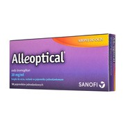 Alleoptical, 20 mg/ml, krople do oczu, 10 szt