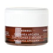 Korres Castanea Arcadia, krem na dzień dla cery suchej i bardzo suchej, 40 ml
