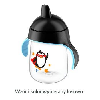 Avent Pingwinek, kubek niekapek z twardym ustnikiem, 340 ml, 1 szt.