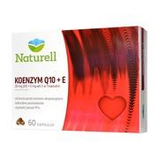 Naturell Koenzym Q10 + E, kapsułki, 60 szt.
