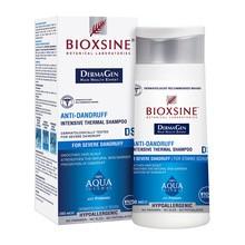 Bioxsine DermaGen Aqua Thermal, szampon przeciwłupieżowy, skóra łojotokowa, 200 ml