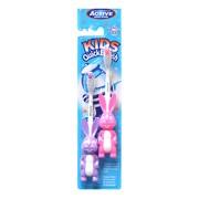 Active Kids Quick Królik, szczoteczka do zębów dla dzieci (3-6 lat), 2 szt.