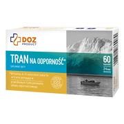 DOZ PRODUCT Tran na odporność, kapsułki, 60 szt.