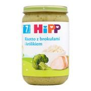 HiPP risotto z brokułami i królikiem, po 7. miesiącu, 220 g